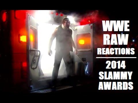 2014 Slammy Awards Recap / Rollins Vs Ziggler! - WWE RAW Reactions
