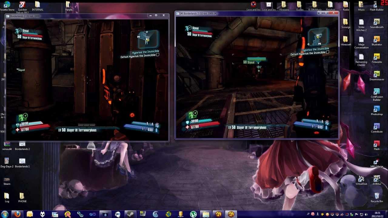How to Split-screen Borderlands 2 on PC - YouTube Borderlands 2 Accounts Split Screen Xbox One