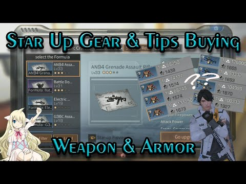 [Beginner Guide] Star Up Gear And Tips Buying Weapon & Armor   LIFEAFTER