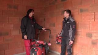 Hilti - Provádění drážek pro kabelové rozvody