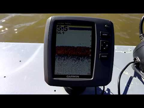 Problems with my Garmin Echo 501c fish finder
