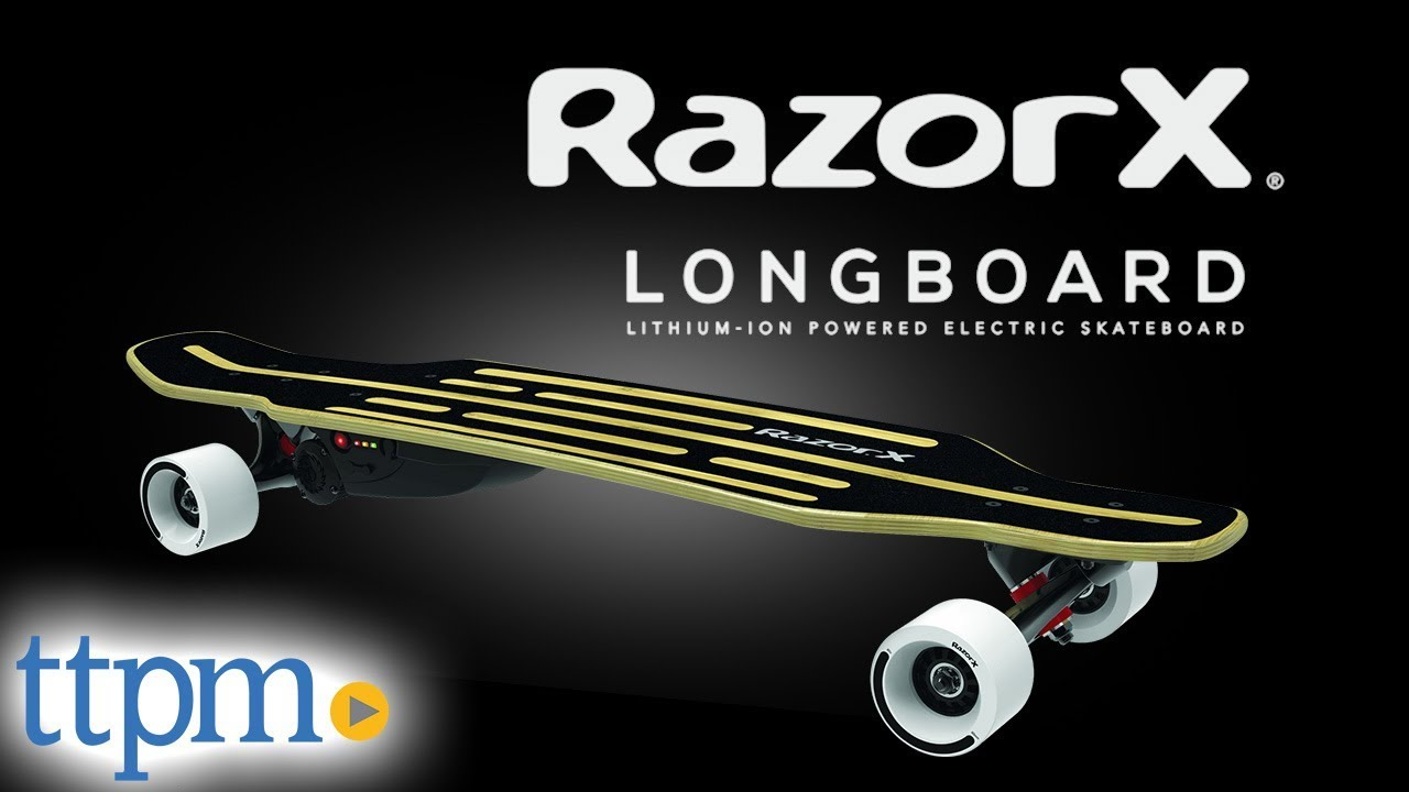 Razorx Longboard Electric Skateboard From Razor Youtube