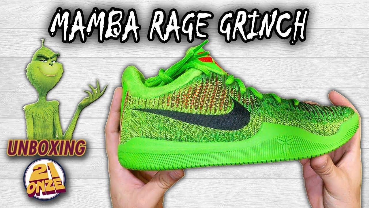 Unboxing Nike MAMBA RAGE \