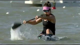 2017 ICF World Cup 2 in Szeged, Hungary, Woman's K-1 200m Heat 4. HD