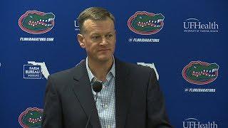 Florida Football: Scott Stricklin Press Conference
