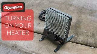 How to Turn On Olympian Wave Heater
