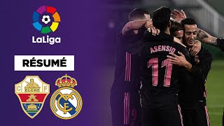 Résumé : Le Real Madrid cale contre Elche malgré le retour d'Hazard !
