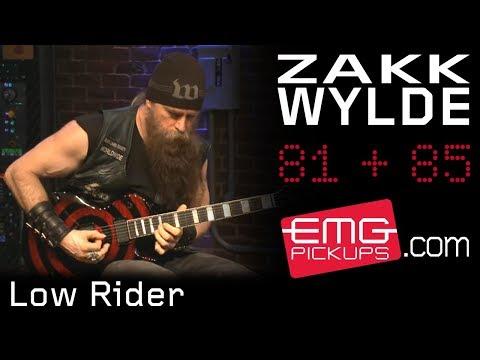 "Zakk Wylde  Plays ""Low Rider"" on EMGtv"