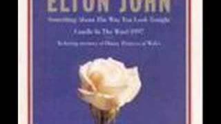 ELTON JOHNsomething about the way you look karaoke