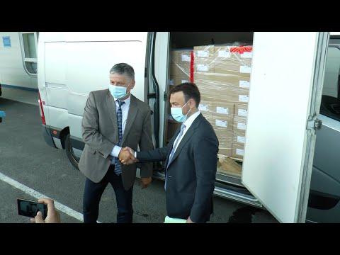 Понад 22 тисячі доз вакцин передала Закарпаттю Угорщина
