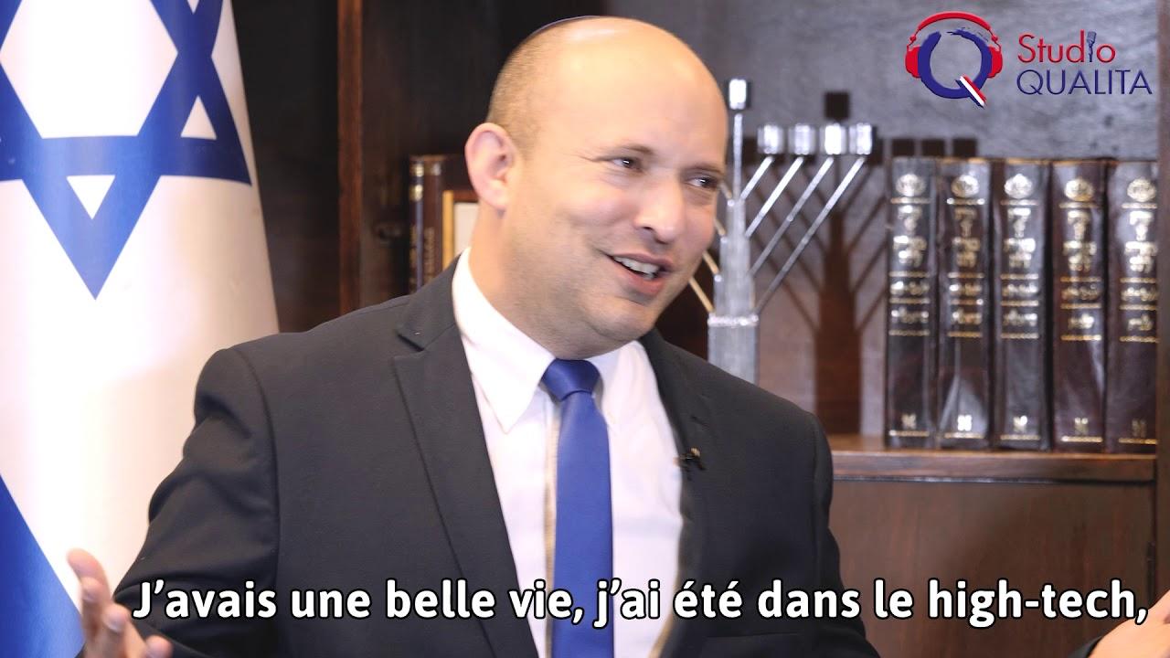 """Naftali Bennett Yamina, """"À droite"""""""