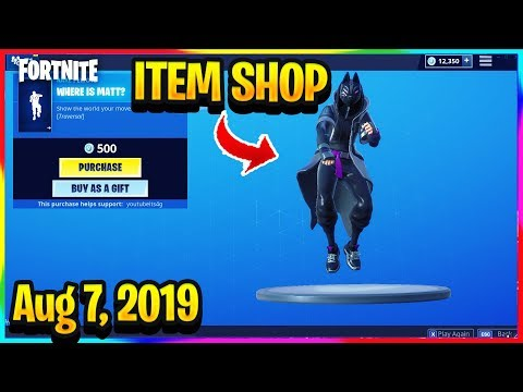 FORTNITE ITEM SHOP *NEW*