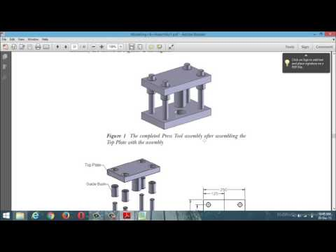 pro-e(creo) part design examples with assembly components(class_7)