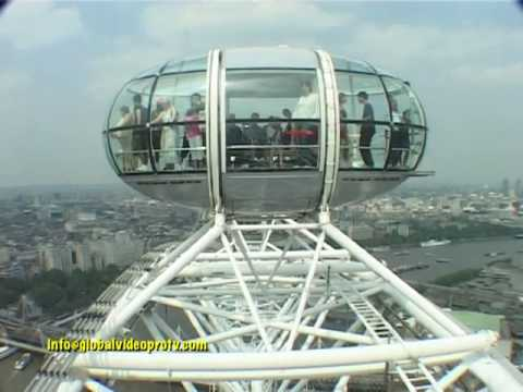 the tallest ferris observation wheel london eye england youtube