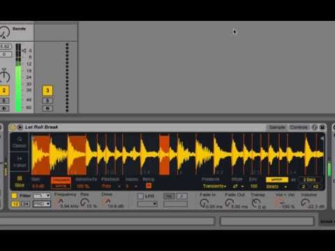 How to chop up Instant breaks with Live 9.5