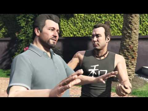 GTA V -  Michael tries Yoga to find Peace