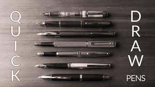 Quick Draw Fountain Pens