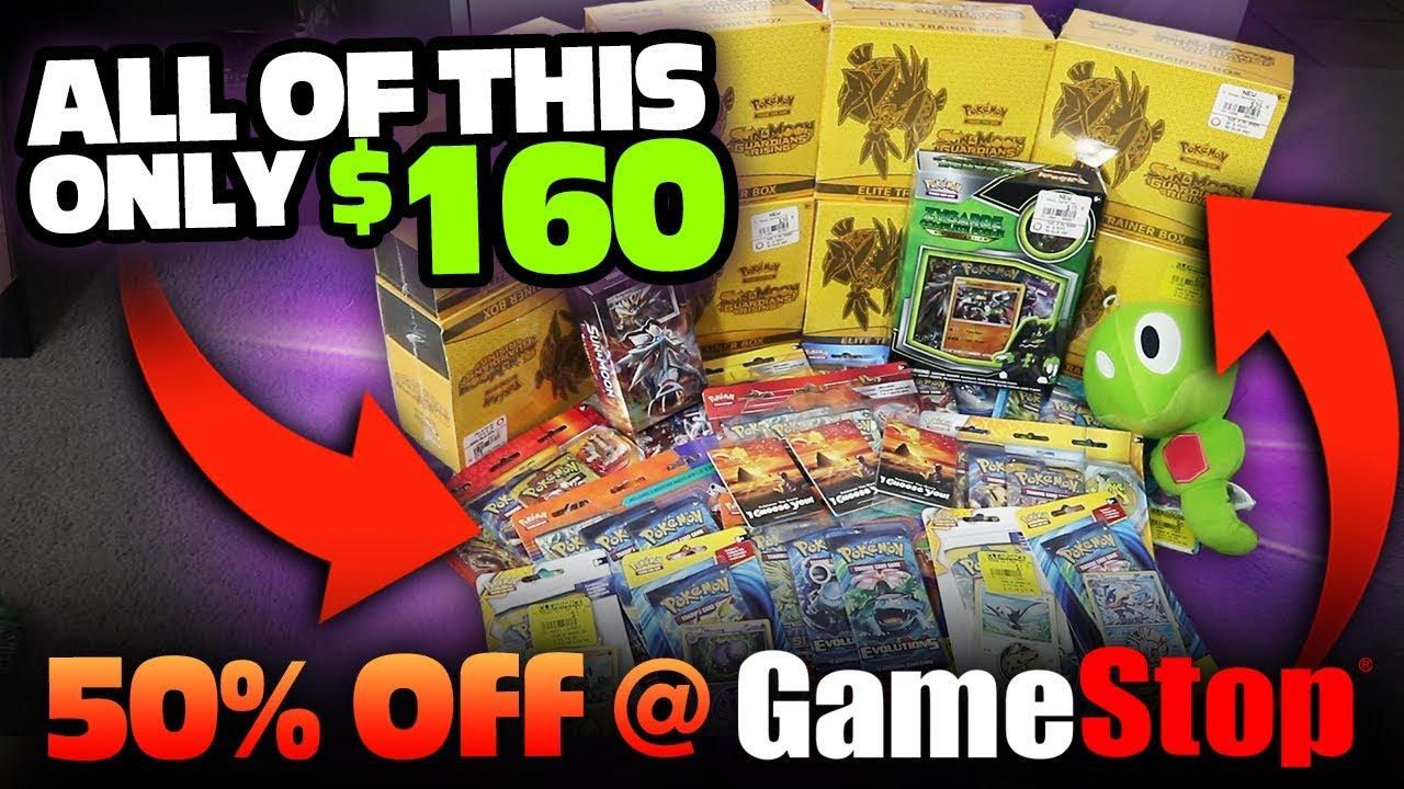 Insane Pokemon Christmas Deals 50 Off Pokemon Cards At
