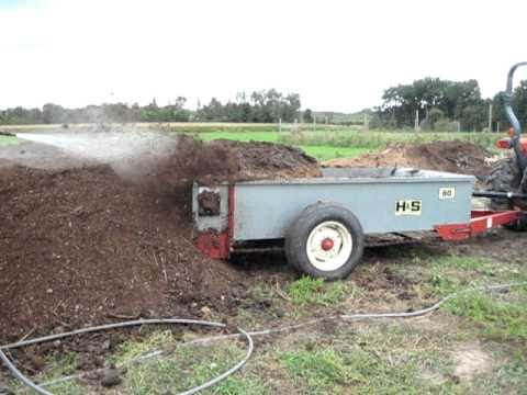 MAKING COMPOST AT THE FARM