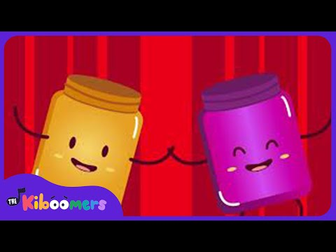 Peanut Butter and Jelly Song for Kids | Food | Kindergarten | The Kiboomers