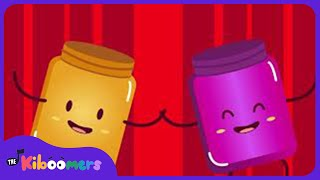 Baixar Peanut Butter and Jelly Song for Kids | Food | Kindergarten | The Kiboomers