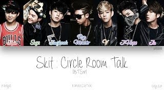 Download Lagu [HAN|ROM|ENG] BTS (방탄소년단) - Skit : Circle Room Talk (Color Coded Lyrics) mp3