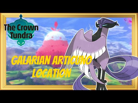 How to Find and Catch Galarian Articuno in Pokémon Sword and Shield - The Crown Tundra