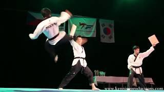 Taekwondo demo show 2018 / korejske bojove sporty
