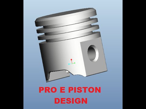 how to make a simple model of a piston