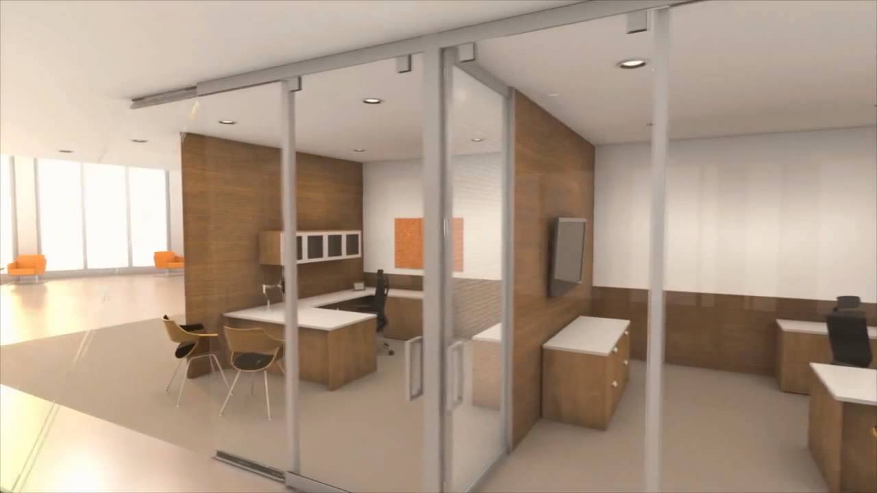 Movable Interior Office Walls | Full Height Portable Wall Partitions ...