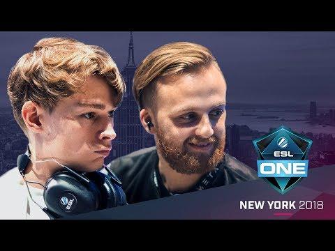 CS:GO - Swag vs. n0thing [Dust2] - Showmatch - ESL One New York 2018