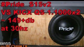 Pride S15v2 vs Kicx 1.1000x2