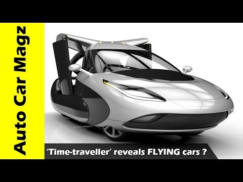 WOW Is This Real 'Time traveller' reveals FLYING cars 'from year 4000'