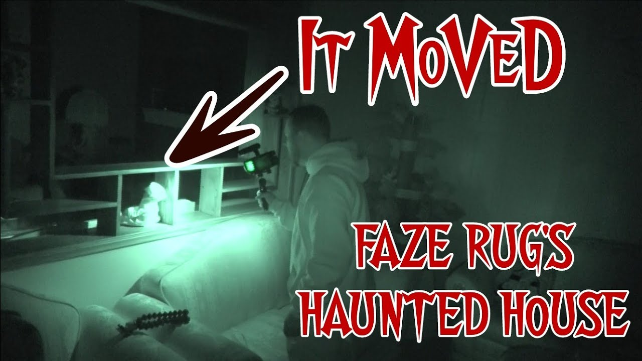 """Faze Rug HAUNTED HOUSE """"PITCH BLACK AT"""