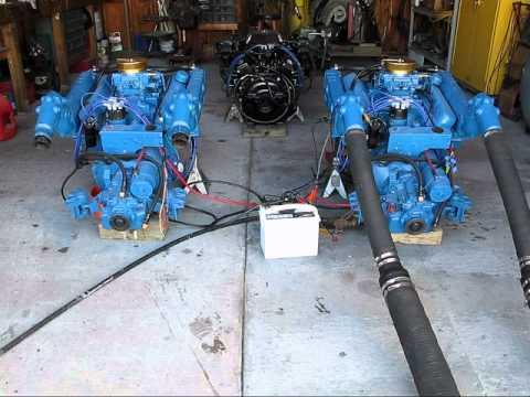 318 Chrysler test run @ NEPTUNE MARINE - YouTube