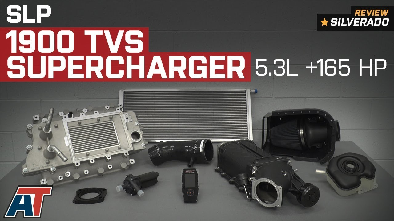 2014-2018 Silverado 1500 SLP 1900 TVS 520 HP Supercharger ...