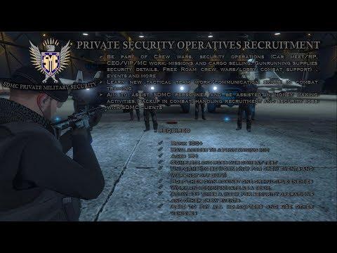 SDMC Private Security Recruitment