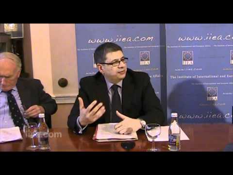 "Ambassador Nicholas Emiliou on ""The Challenge of EU Enlargement  - A View from Nicosia"""