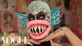Inside Charity Kase's Extreme Beauty Routine | Vogue