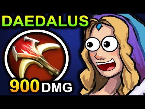 DAEDALUS CRYSTAL MAIDEN DOTA 2 PATCH 7.06 NEW META PRO GAMEPLAY