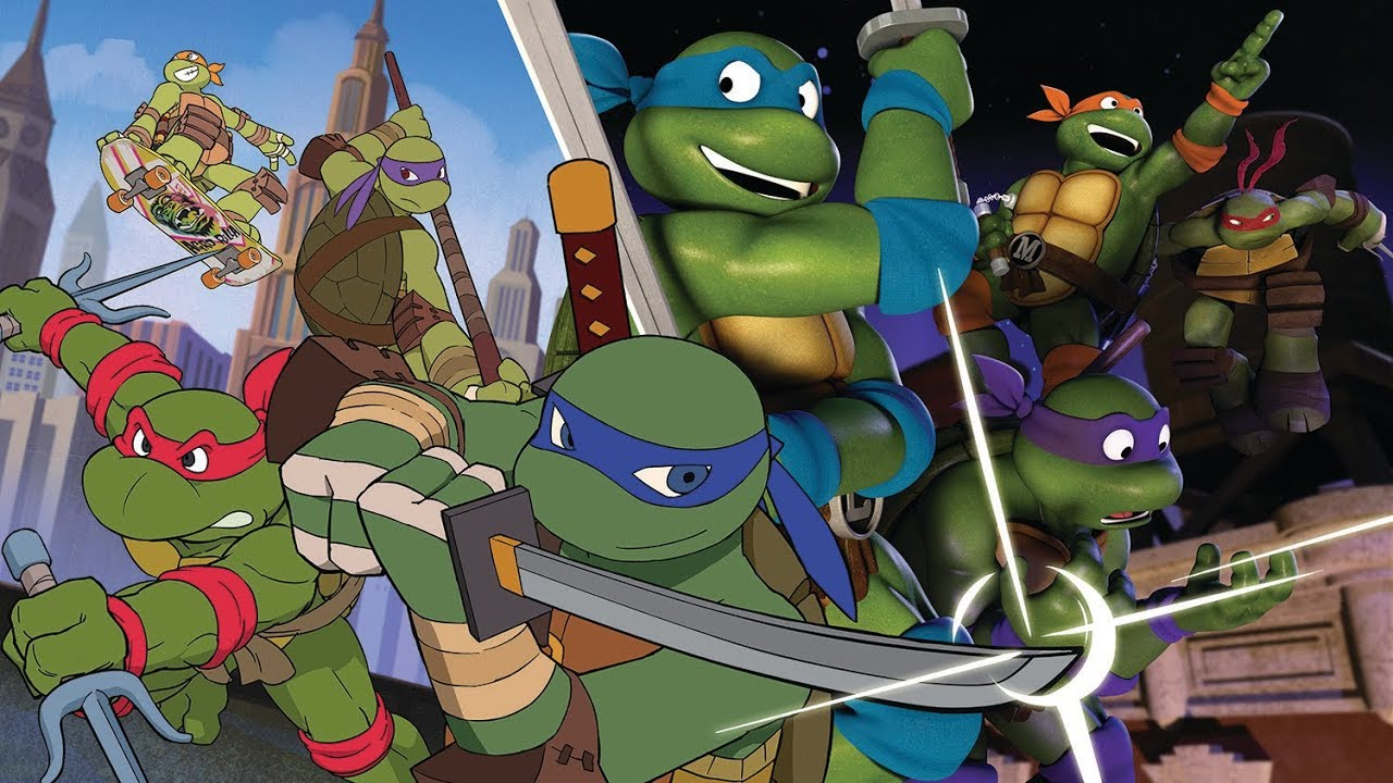 「SNS」At the beginning | TMNT through the ages ᴹᴱᴾ