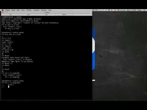 Python Programming - Introduction