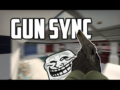 [CS:GO] EPIC GUN SYNC | Rainbow Trololol