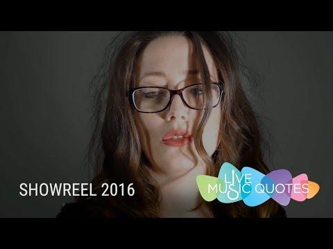 Live Music Quotes Showreel 2016