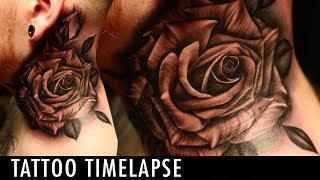 Tattoo Timelapse -Justin Burnout