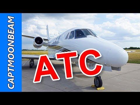 ATC Cessna Citation XLS, SUS to Newton Iowa, TNU