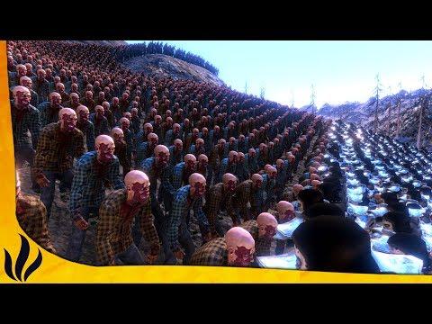 20,000 ZOMBIES VS 3,000 SOUL TYRANTS ! (Ultimate Epic Battle Simulator)