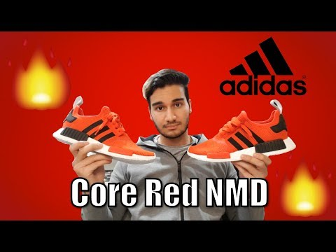 Adidas NMD R1 Core Red Review!
