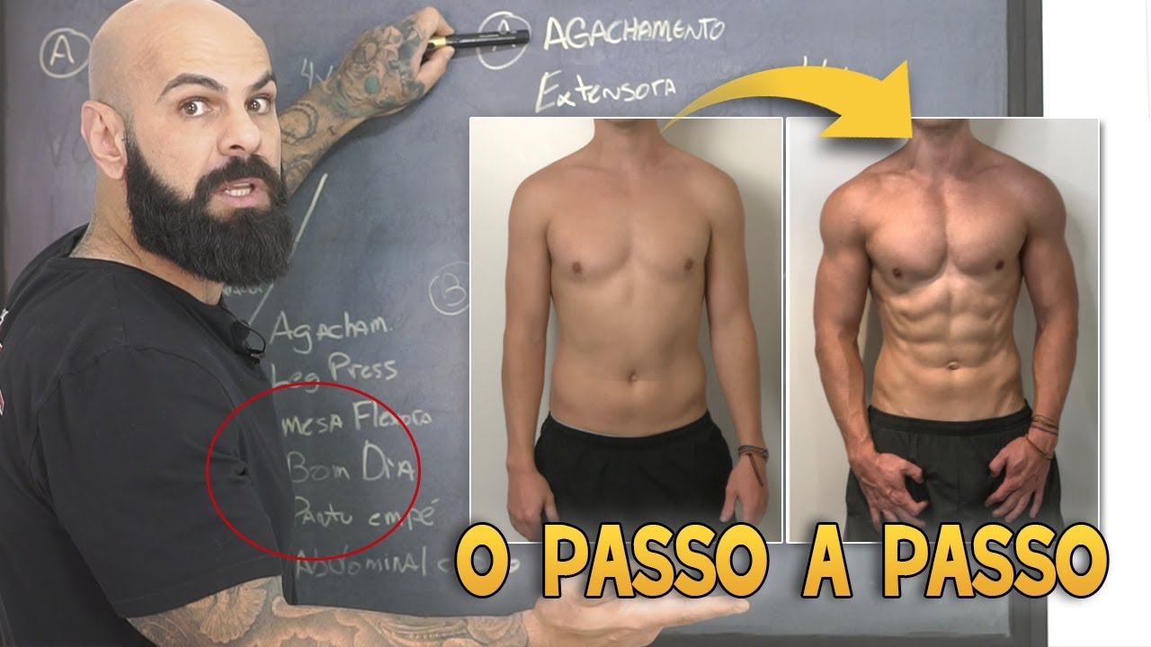 Download PASSO A PASSO PARA QUALQUER INICIANTE MONTAR O SEU PRÓPRIO TREINO DE MUSCULAÇÃO