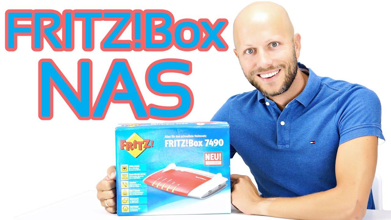 FRITZ!Box NAS einrichten  iDomiX
